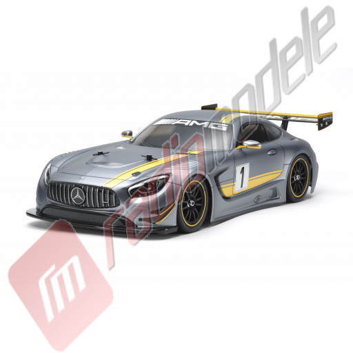KIT Automodel electric on-road Tamiya Mercedes-AMG GT3 (TT-02), scara 1/10